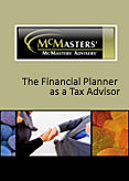 The Financial Planner as a Tax Advisor